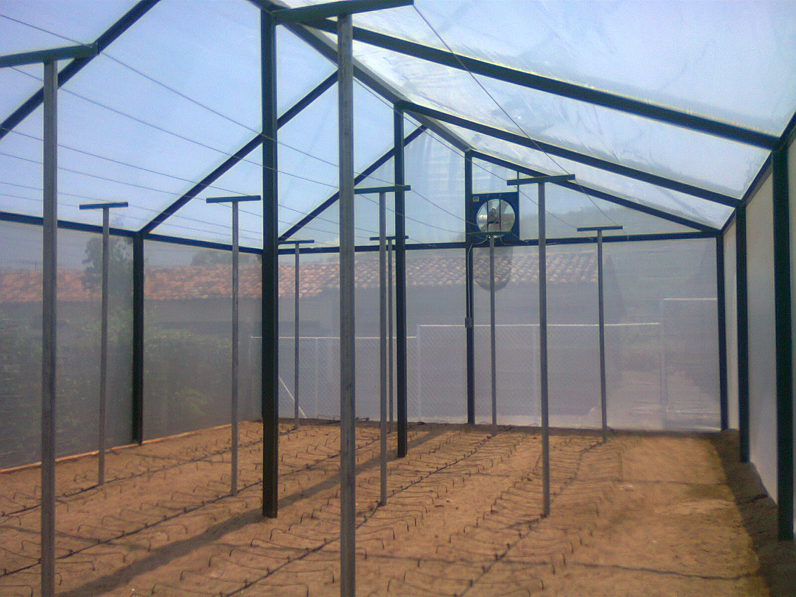 Extractor de aire para control de temperatura