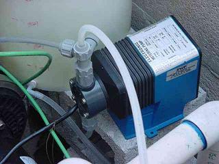 Bomba inyectora de fertilizante